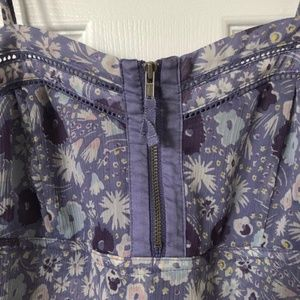 American Eagle Outfitters Dresses - AEO | Purple Floral Sun Dress